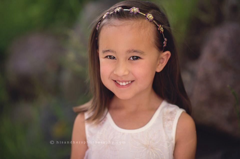 Child   Paige is 5!