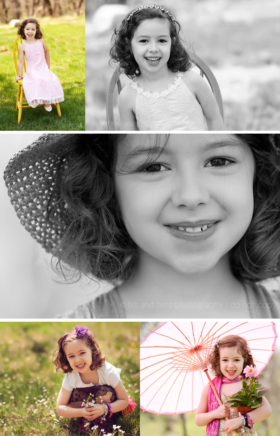 Ella, 5 year old portraits | Des Moines Children's Photographer