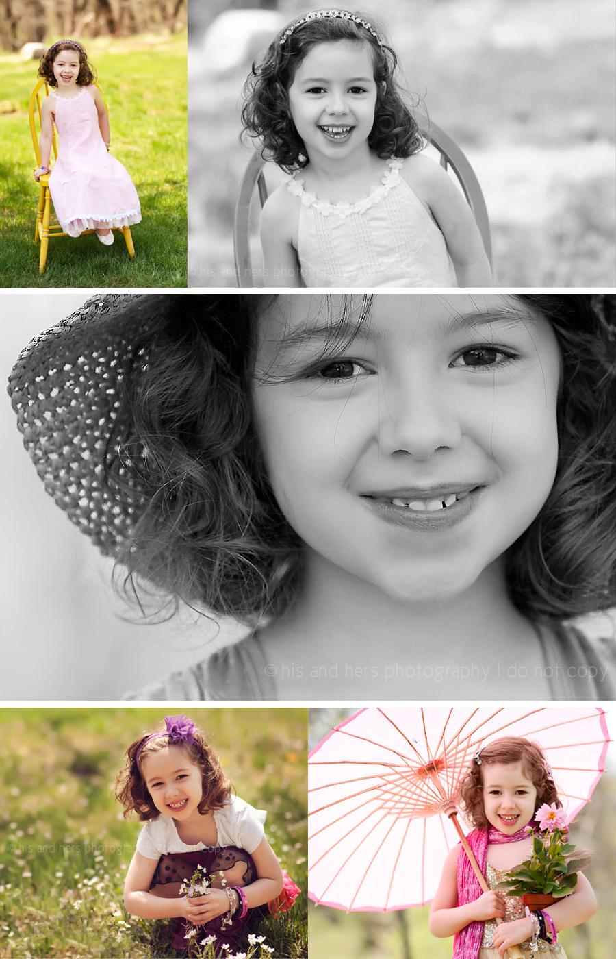 Ella, 5 year old portraits   Des Moines Children's Photographer