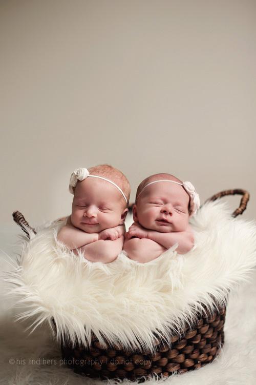 iowa newborn photographer twins twin girls des moines baby photography studio