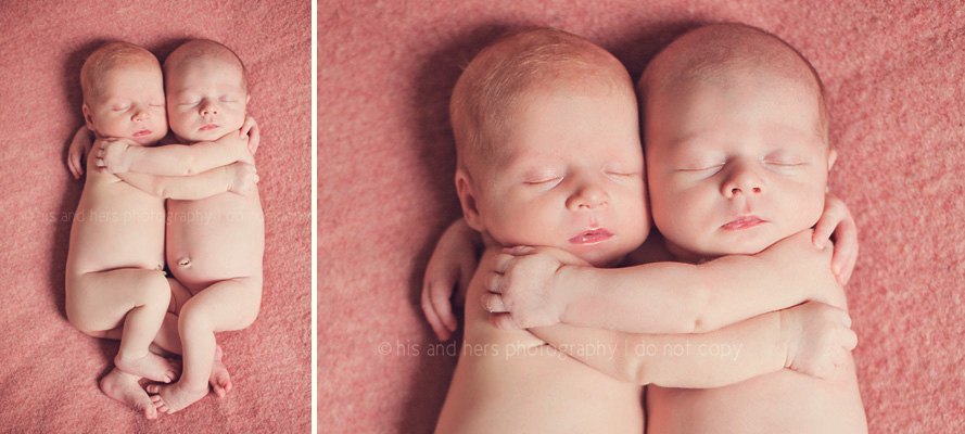 iowa newborn photographer twins twin girls des moines baby photography studio