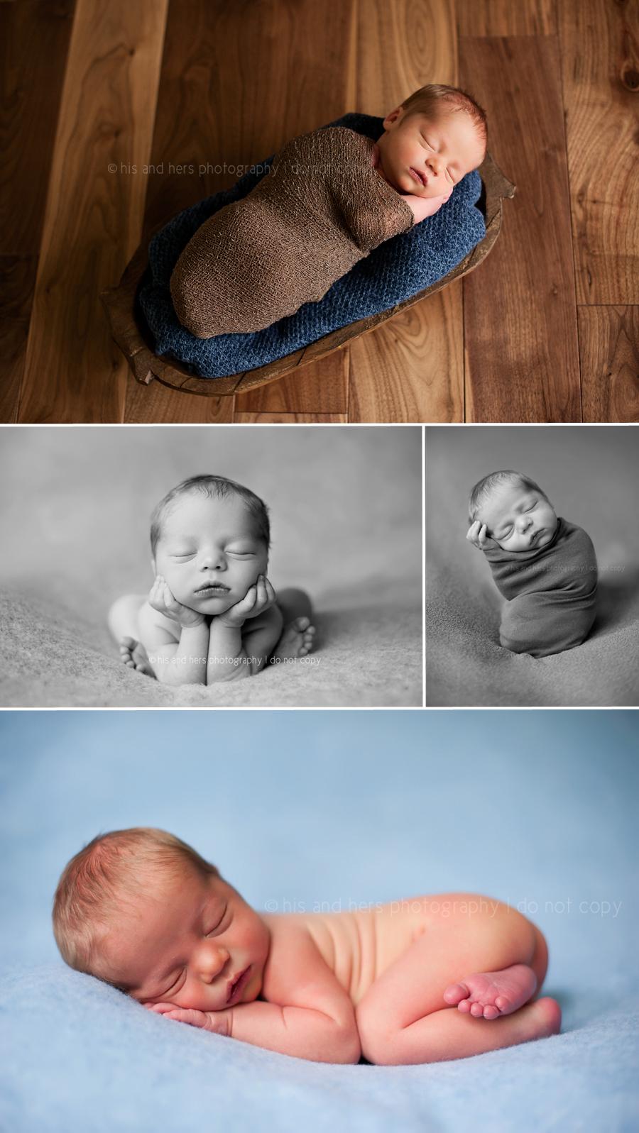 Harrison, 4 days | Des Moines, Iowa Newborn Photographer