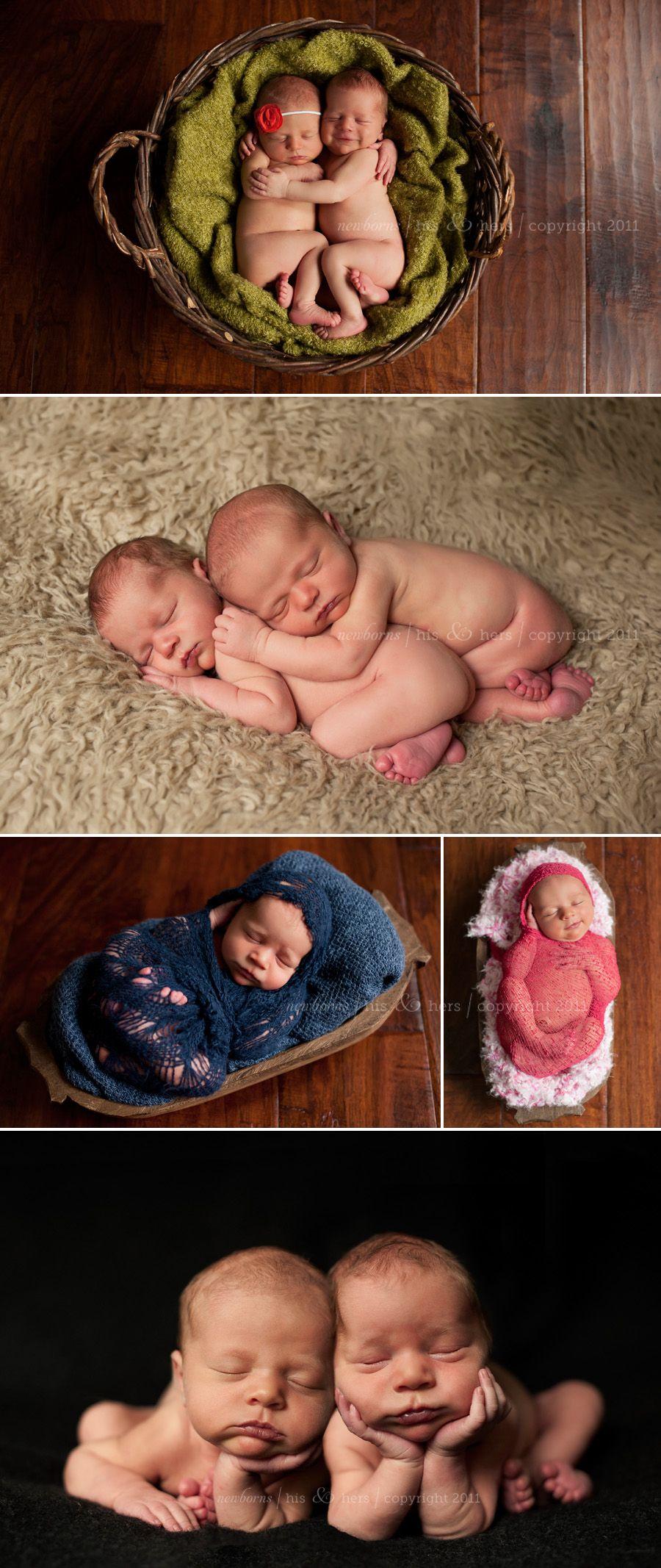 Shiloh & Skyler, Newborn Twins | Des Moines, Iowa Newborn Photography