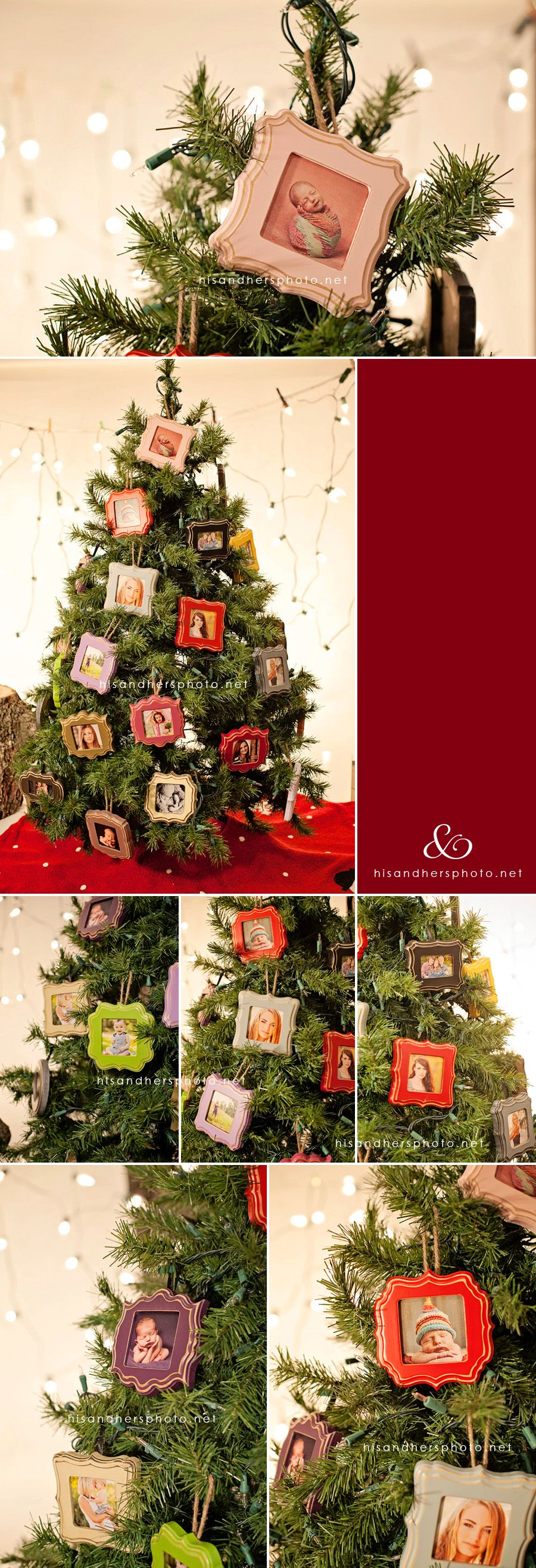 Framed Christmas Ornaments – Perfect Holiday Gift!