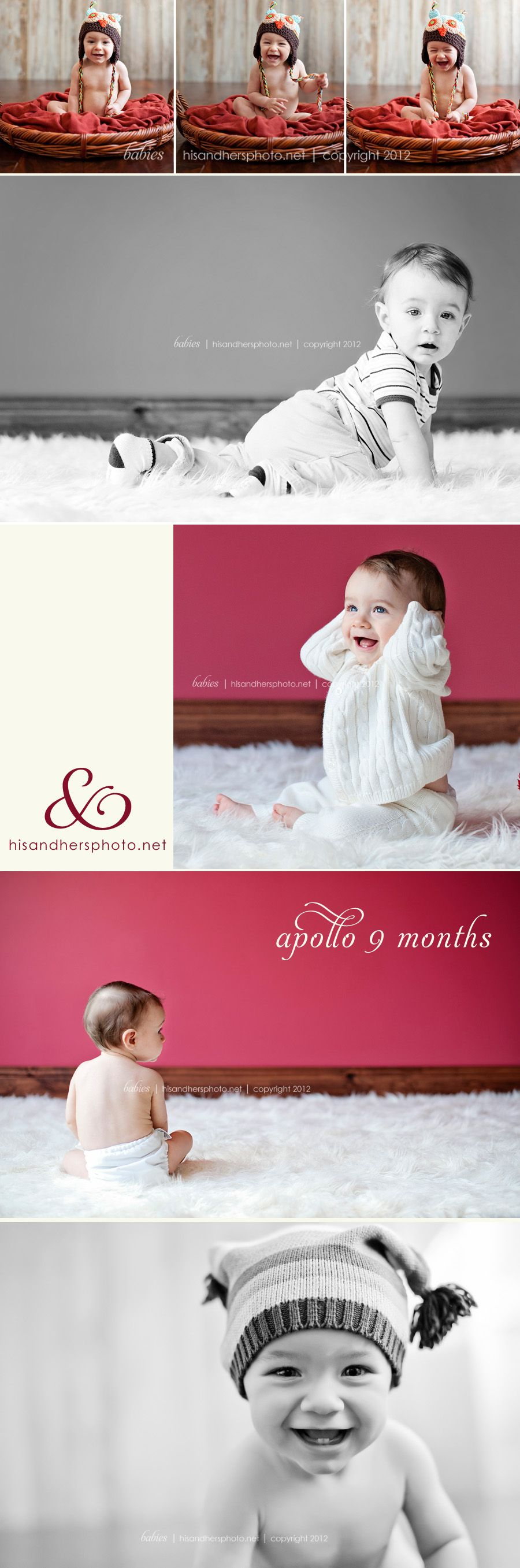 Des Moines, Iowa Baby Photographer | Apollo, 9 months old