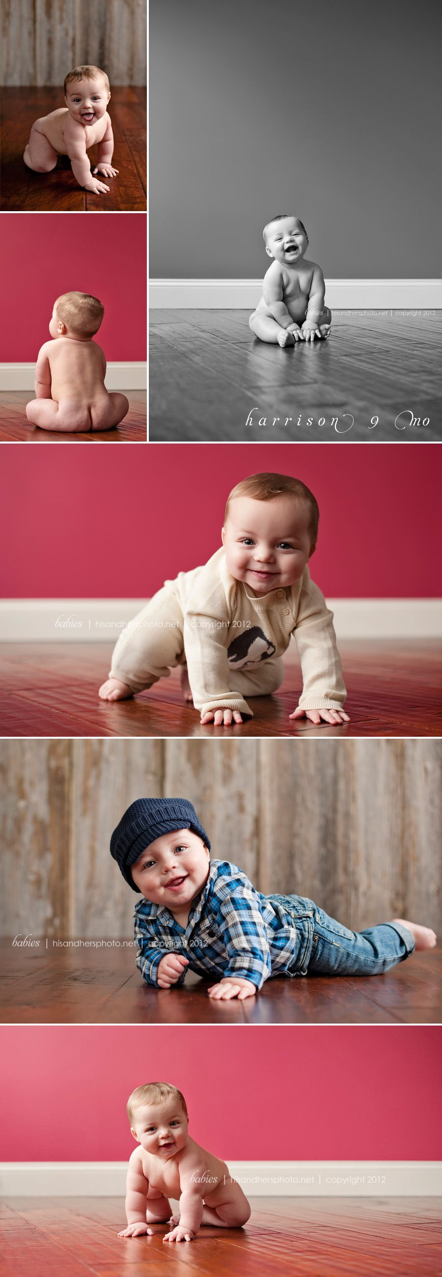 Des Moines, Iowa Baby & Children's Photographer | Harrison, 9 months old