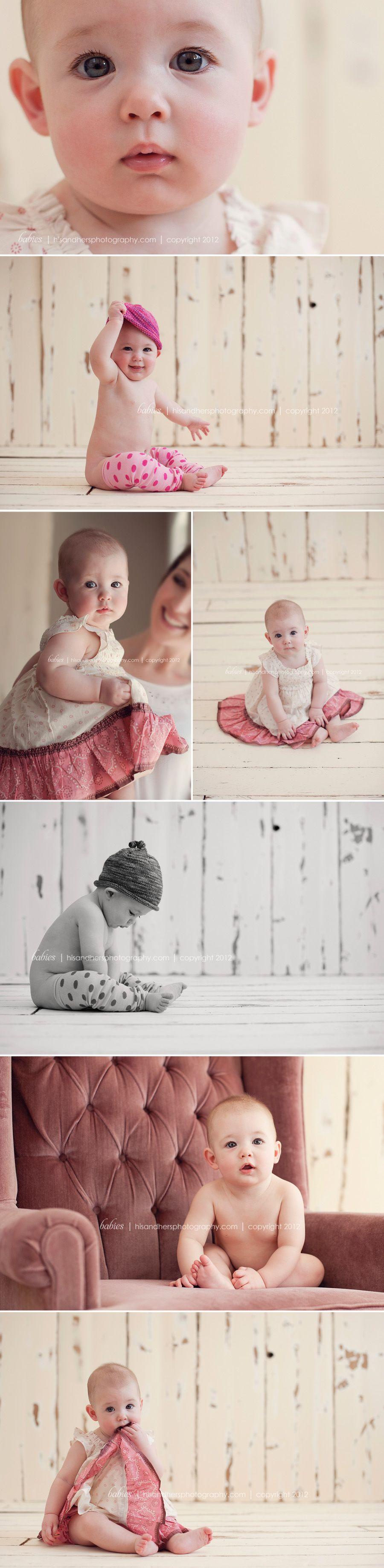Des Moines, Iowa Baby & Children's Photographer | Makenna is 6 months old!