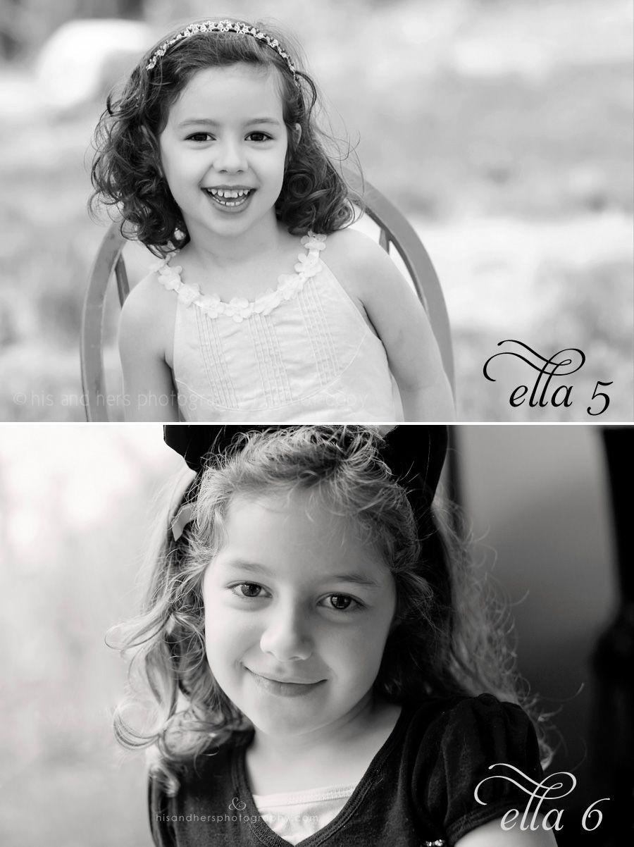 Iowa Children's Photographer   Gabriella is 6 years old