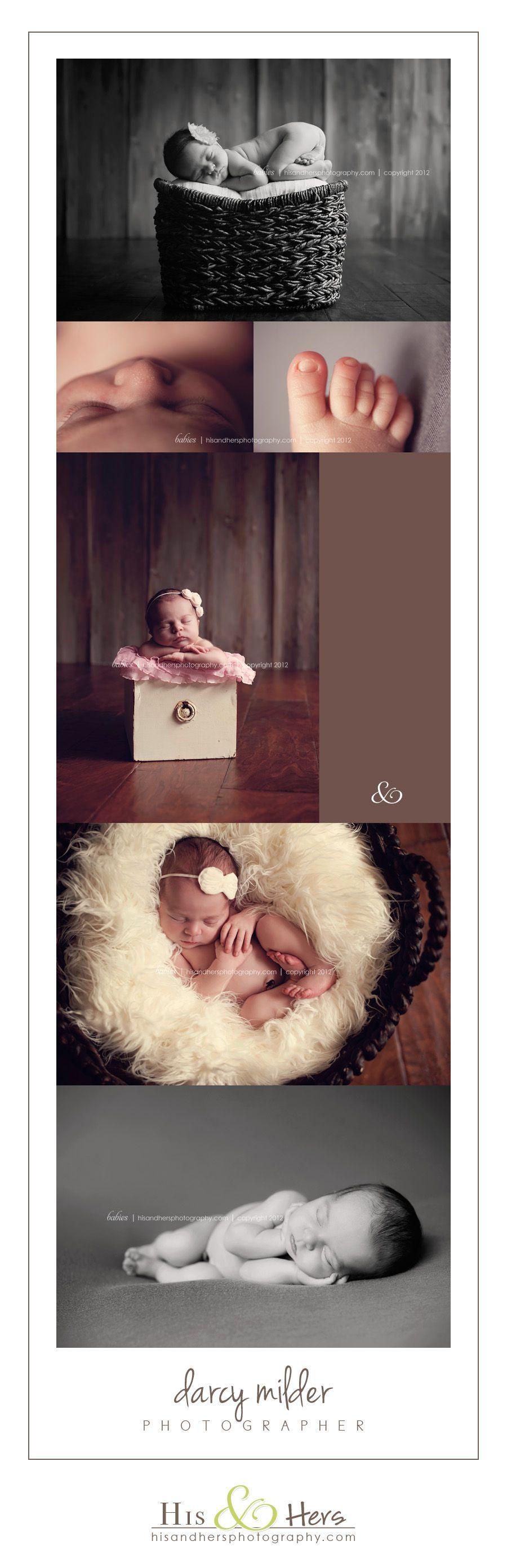 Des Moines, Iowa Newborn Photographer | Mckayla, 8 days new