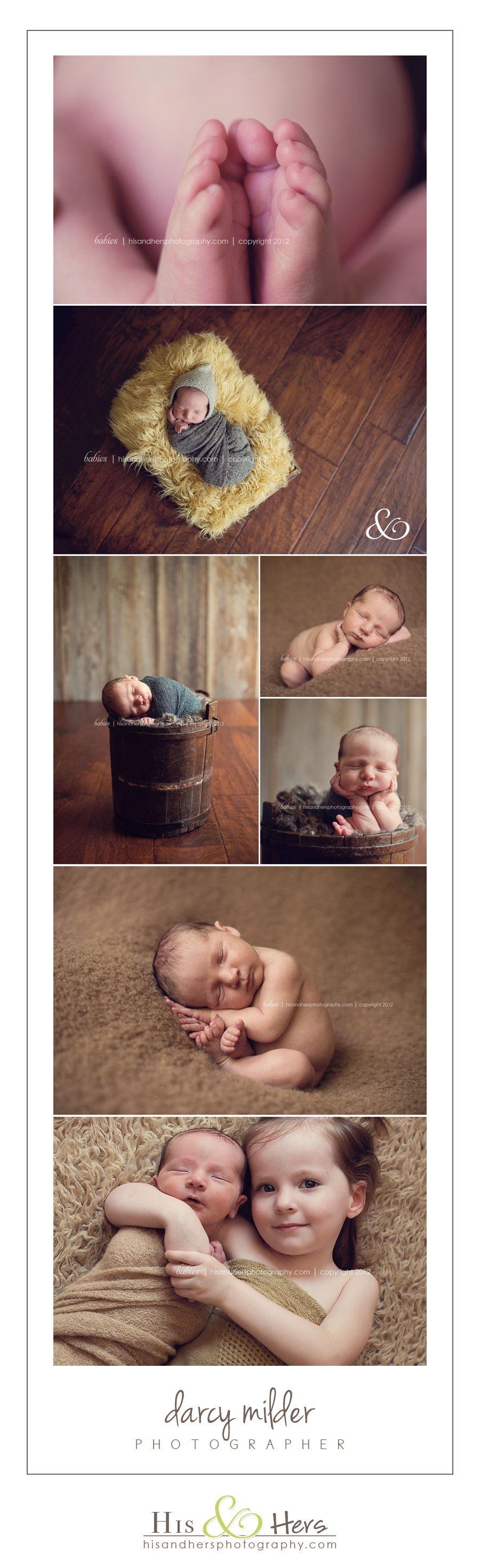 Iowa Newborn Photographer, Des Moines Iowa Baby photography | His & Hers | Des Moines, Iowa