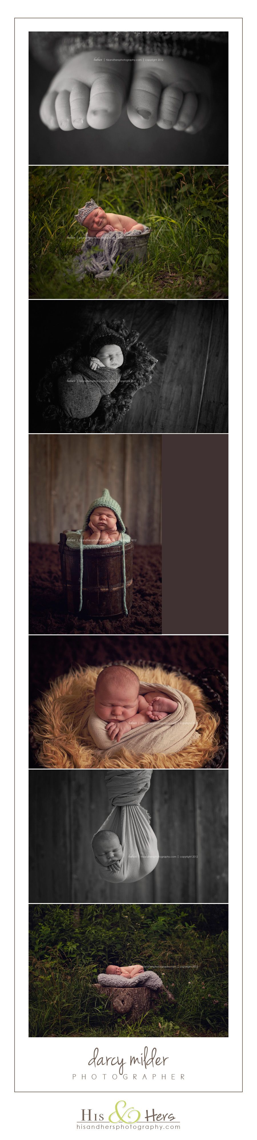 newborn photographer des moines iowa, baby infant portraits pictures, Darcy Milder His & Hers