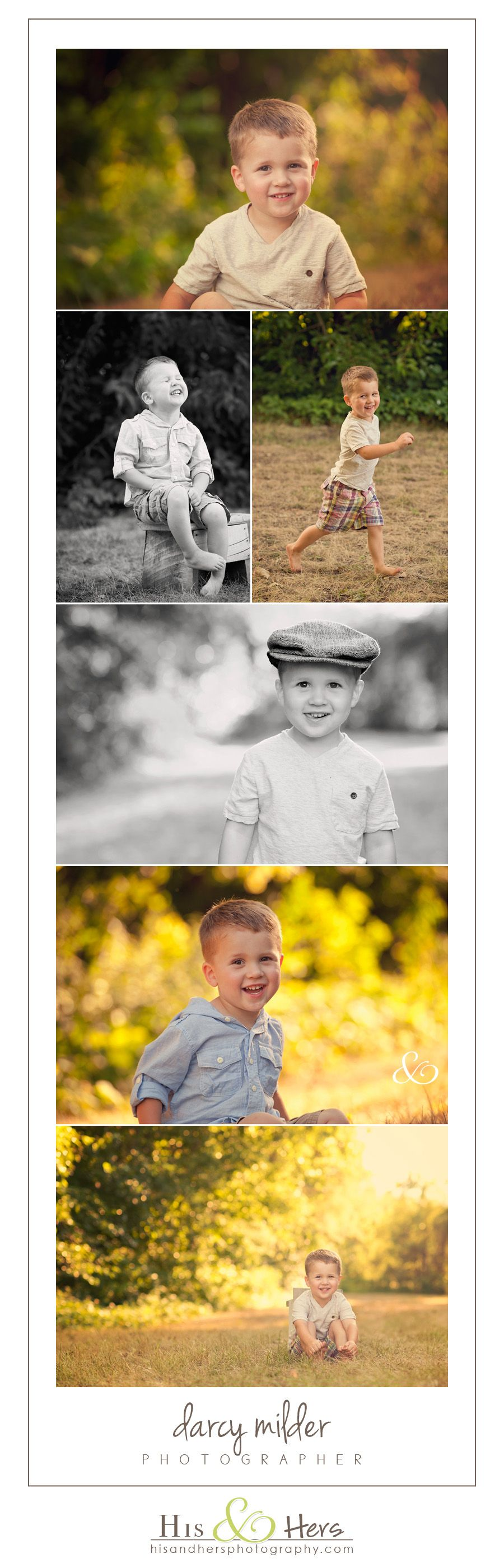 Iowa Children's Photographer | Nicholas is 3 years old!