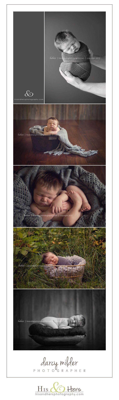 Iowa Newborn Photographer | Brady, 8 days new