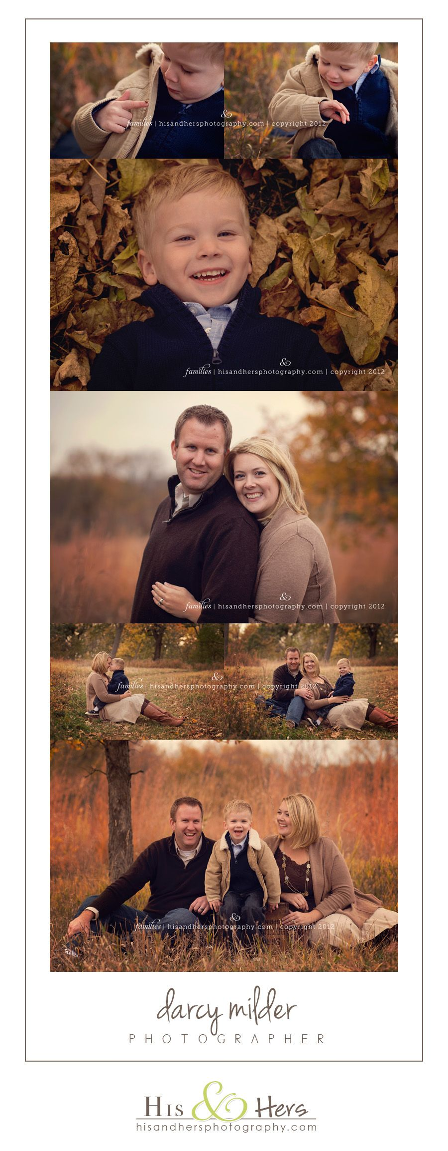 Family Photographer   Michael, 3 years, and his family