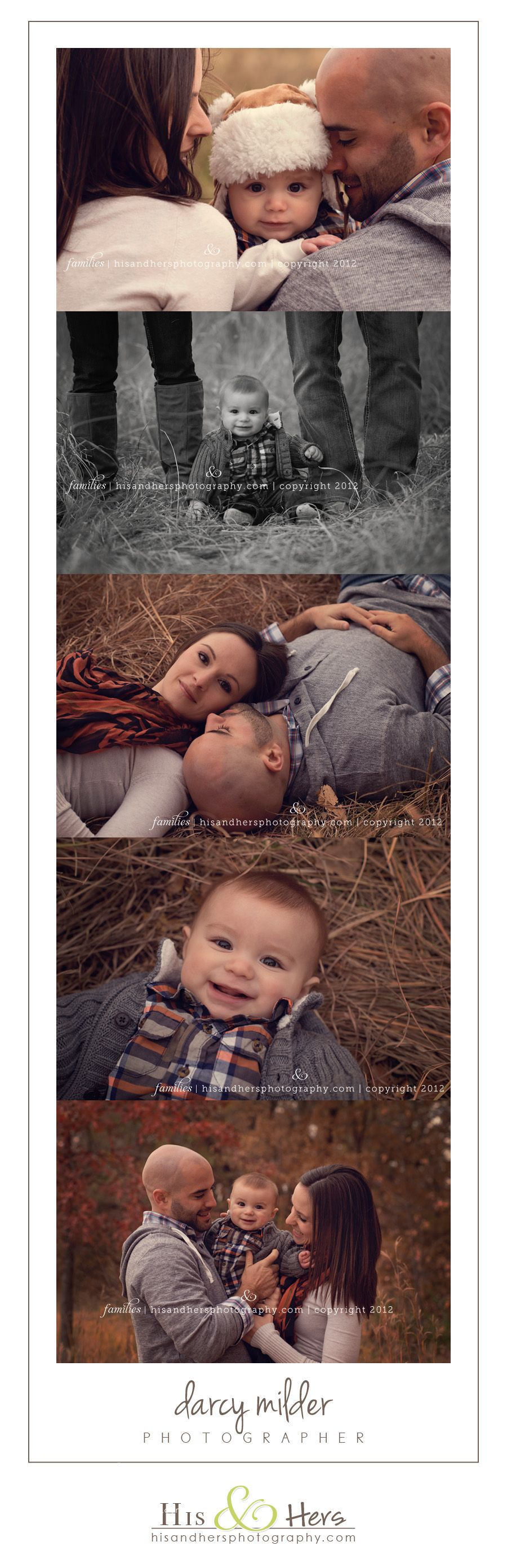 Family Photographer | Carter, 6 months, and his Family