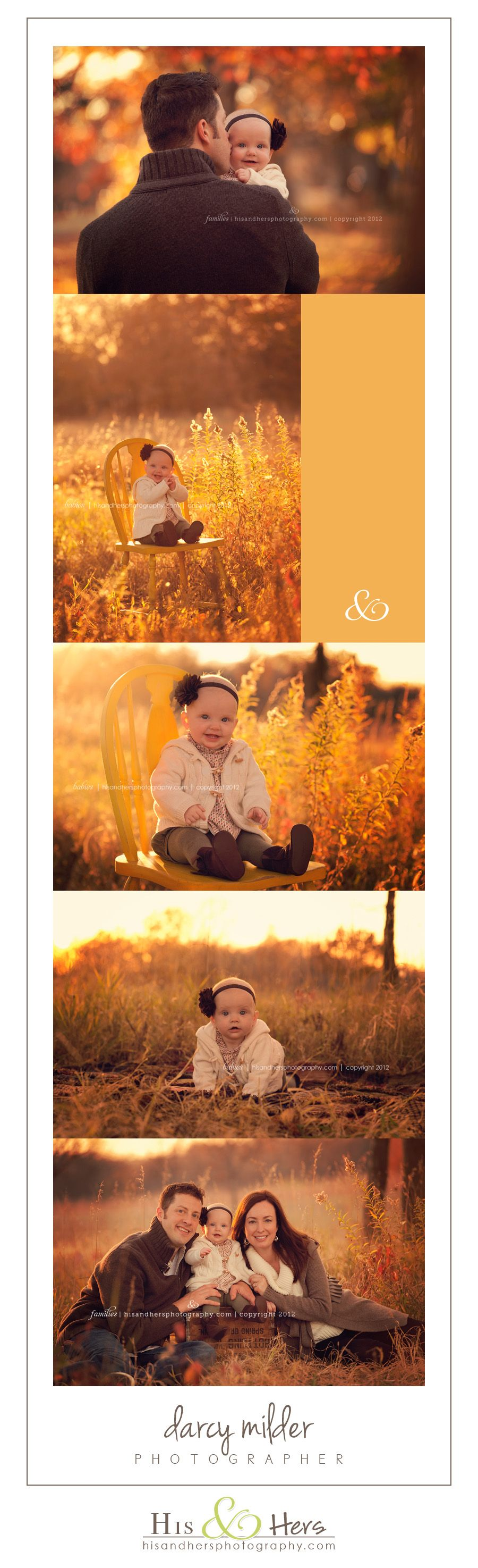 Iowa Children & Family Photographer   Charlotte 6 months old