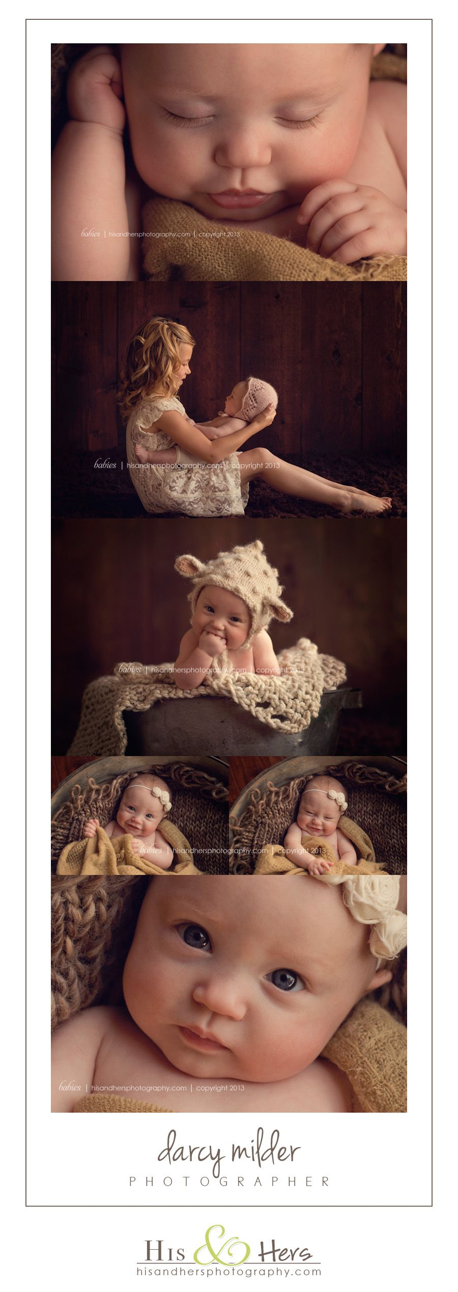 Baby Photographer   Finley, 4 months