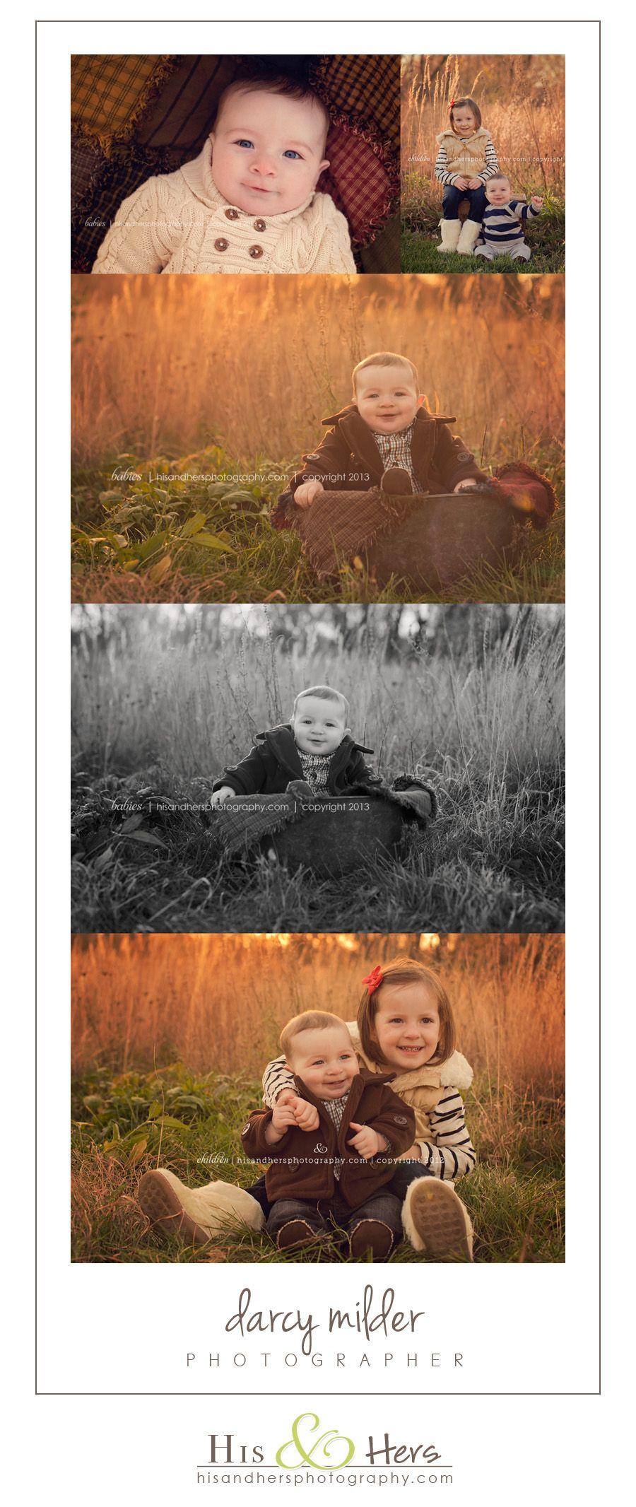 Babies | 6 month old Roman + Big Sis, Ellisyn