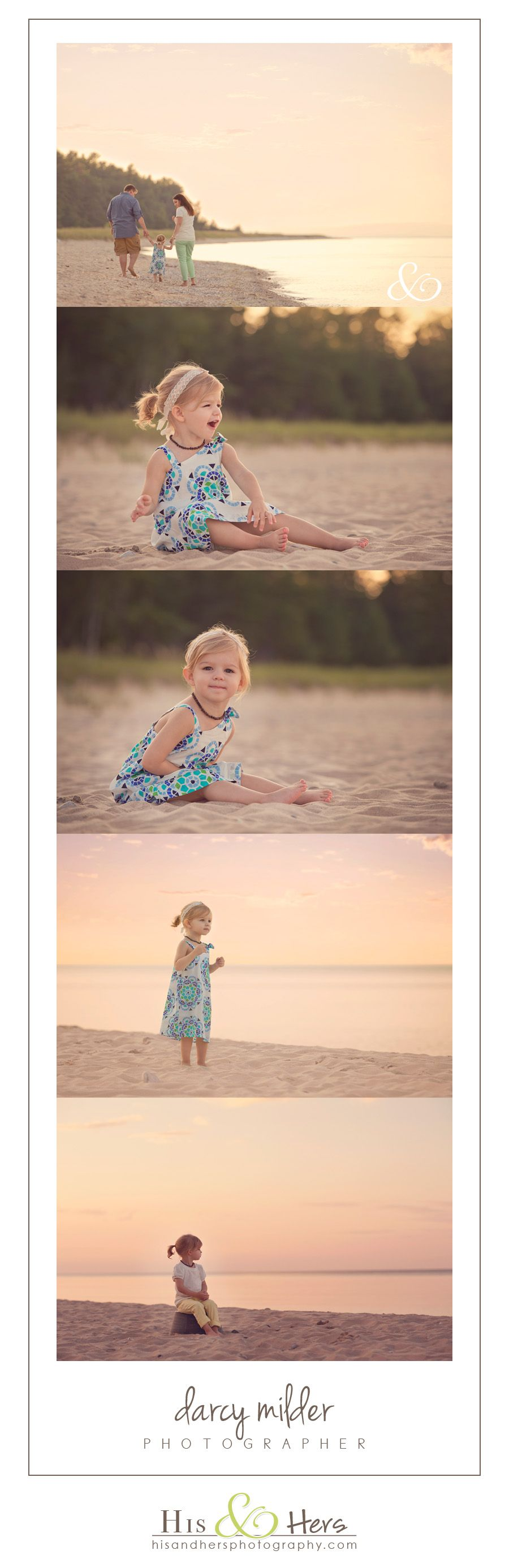 Child | H&H on the Road | Beach Session with Giuliana
