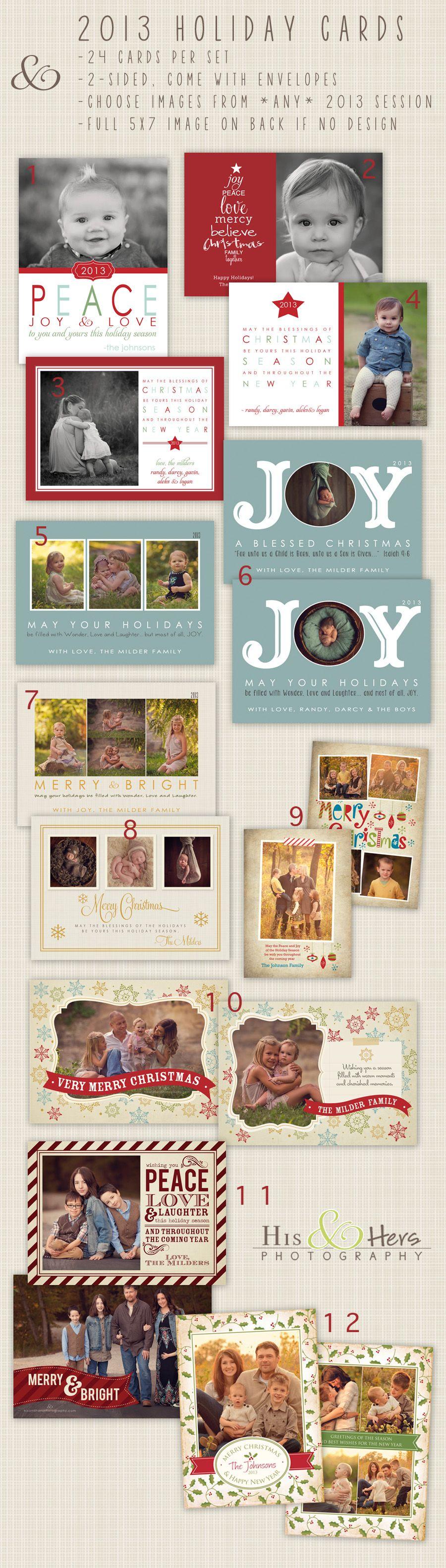 2013 Christmas & Holiday Cards