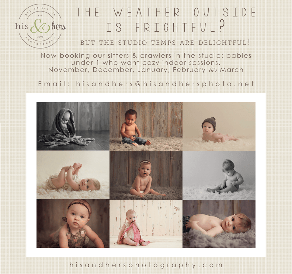 Now booking Winter babies!