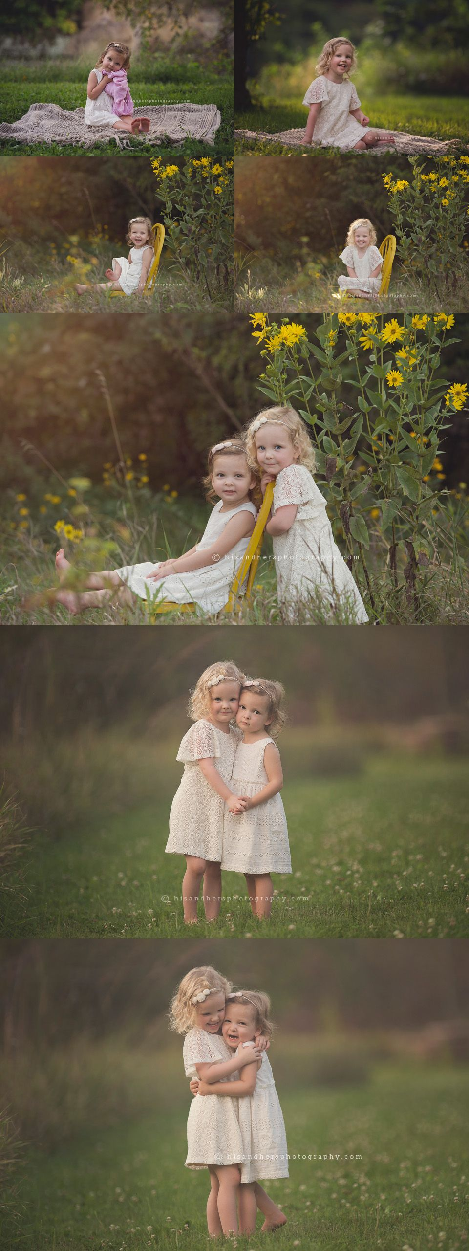 Child | Charlotte & Caroline, 3 and 2 years