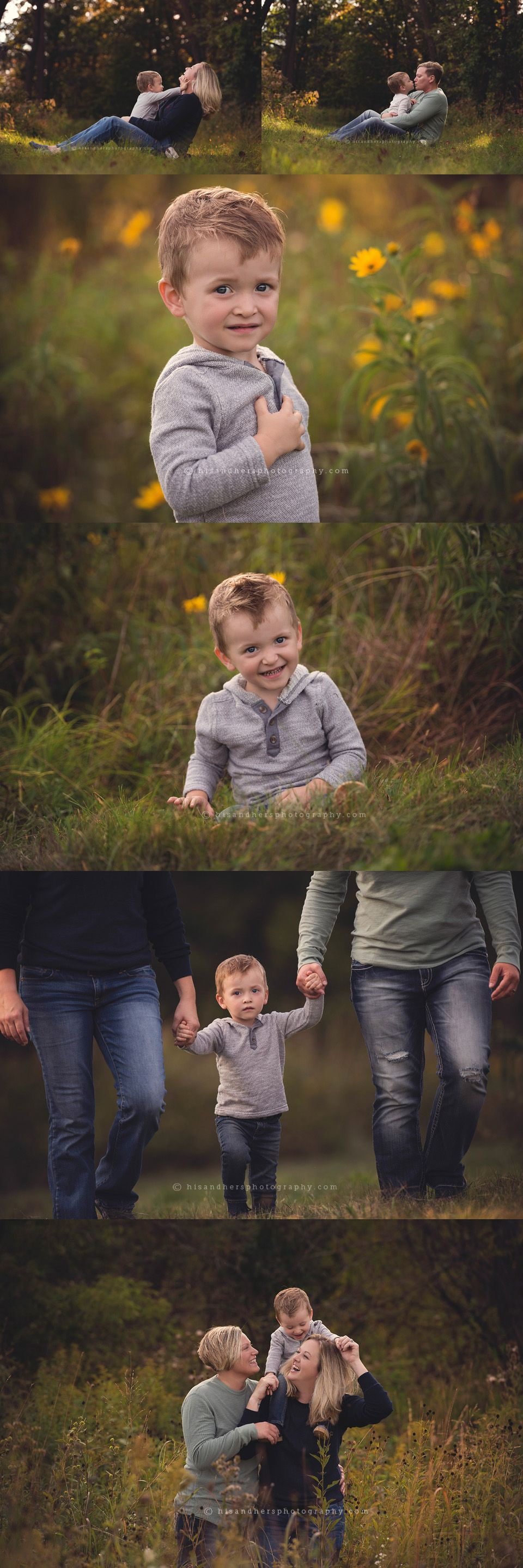 Child + Fam | Gage is 2!