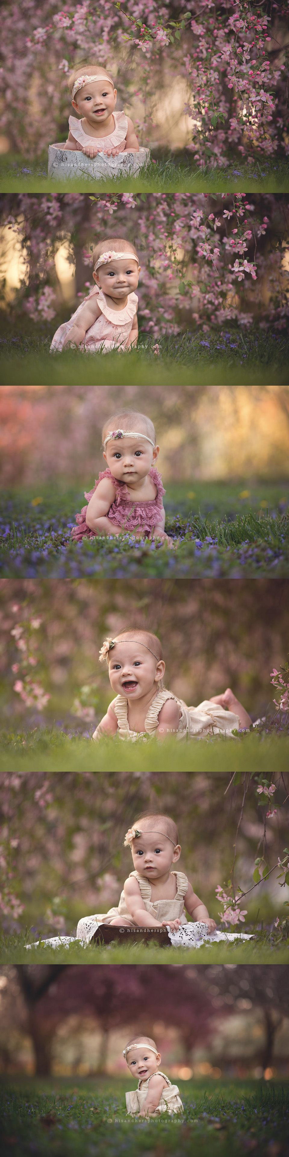 Baby | Elodie, 6 months bloom session