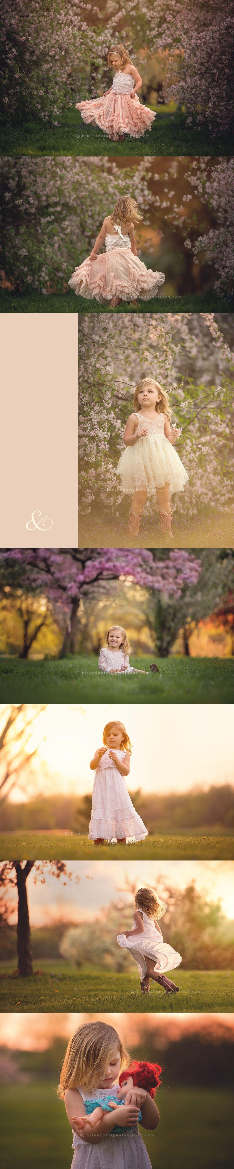 Child   Isadora, Spring Blooms