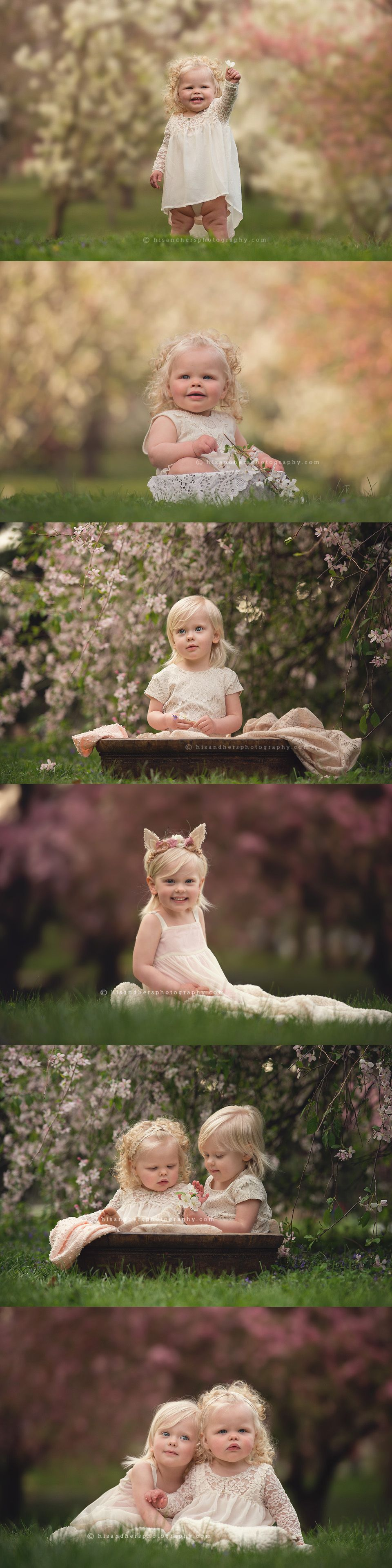 Baby + Child | Sister session, Khloe + Kassidy 3 years 1 year