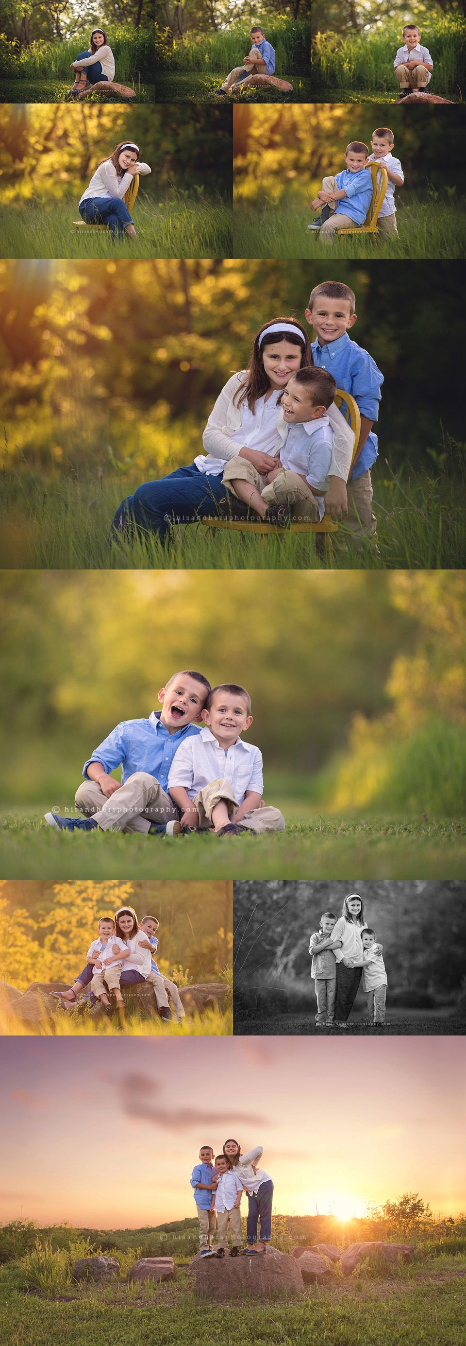 Family | Sibling session: Avery, Emmett and Oren