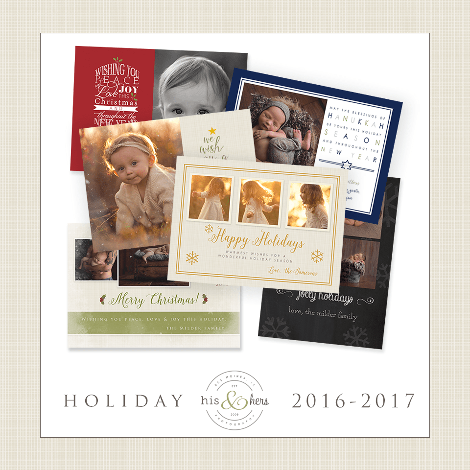 holiday photo session des moines iowa photographer christmas cards holiday cards photography