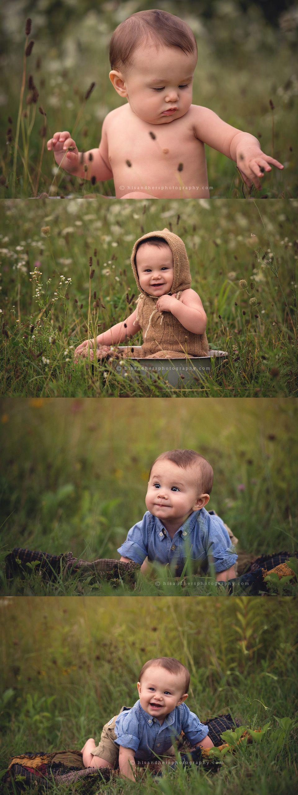 des moines iowa baby photographer 6 7 8 9 months sitting session iowa photographer