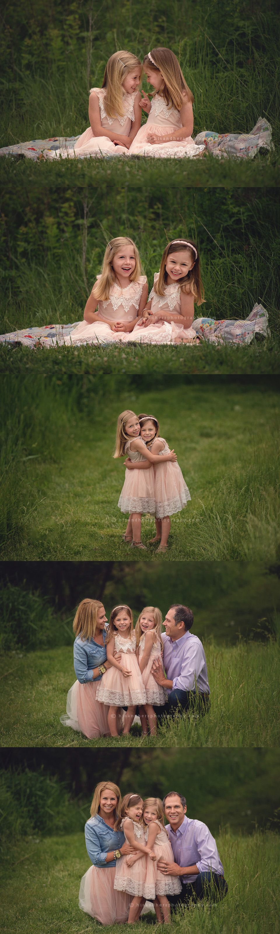 des moines iowa family portraits photographer family pictures iowa twins sisters sibling photography