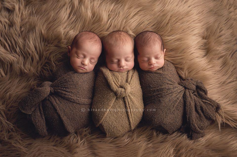 Newborn | Triplets! Jade Maya & Nora