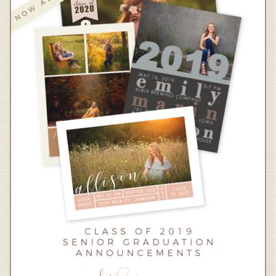 des moines iowa senior portriaits graduation announcement invites order cards class of 2019 2020 2021