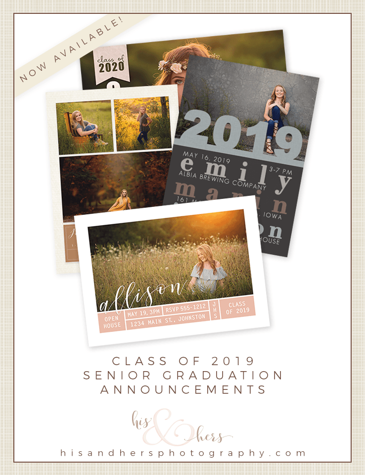 Hey, Class of 2019 – It's Grad Announcement Time!