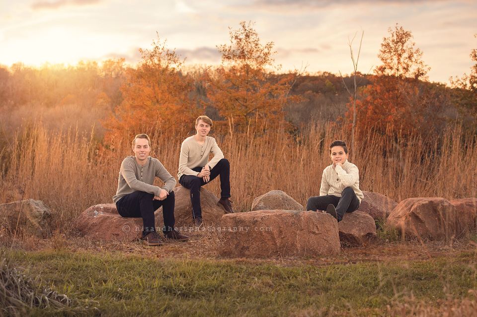 Family | Fall Family Photos, Brandon + Angela + boys