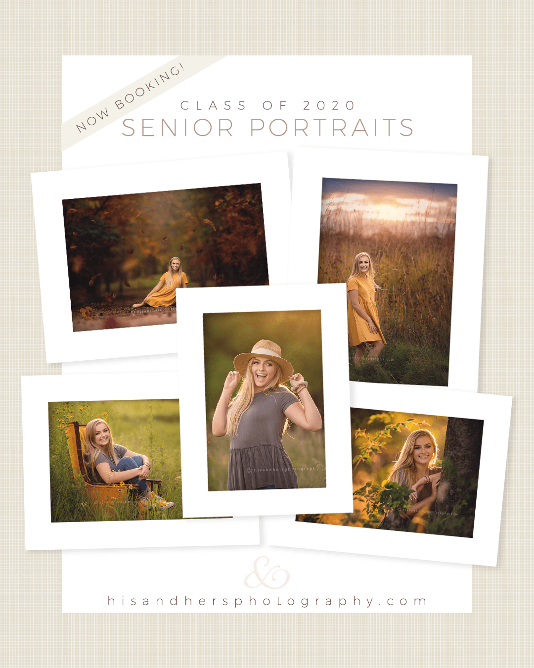 Seniors | Now Booking Class of 2020