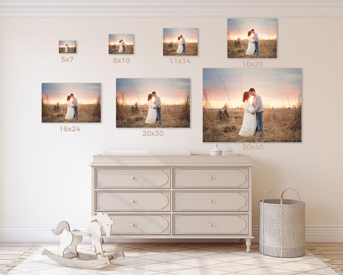 baby nursery wall art des moines iowa photographer photography maternity canvas framed art des moines iowa
